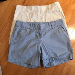 2 J-Crew shorts for the price of one